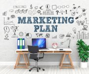 Marketing PLAN / Office / Wall / Symbol