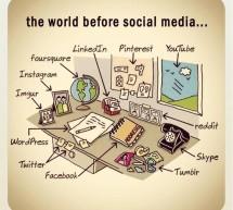 Clin d'oeil: La vie avant les médias sociaux