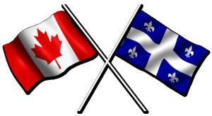 Canada Quebec flag