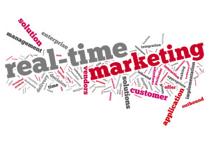 """Word Cloud """"Real-Time Marketing"""""""