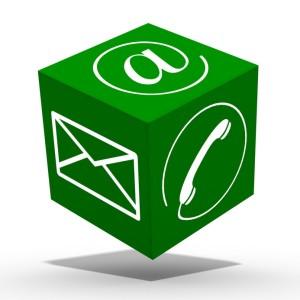 Cube communication vert