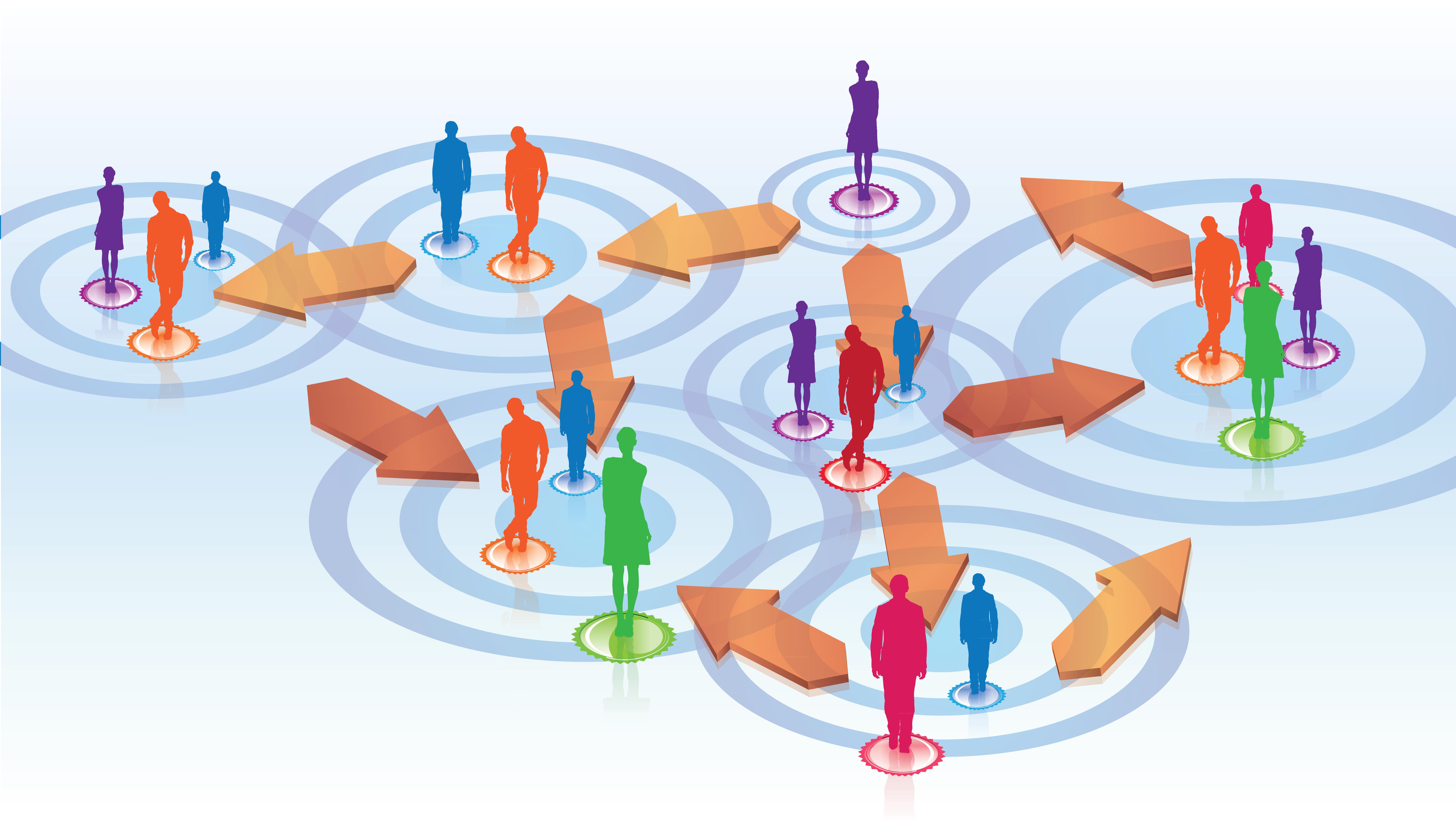 management d'équipe / réseaux sociaux