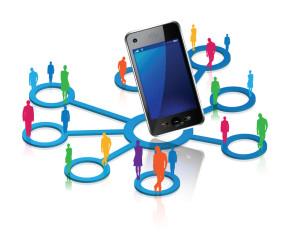 smartphones et réseaux sociaux