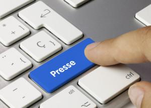 Presse tastatur. Finger