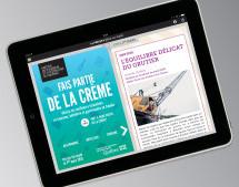 Écorce signe la toute première campagne de promotion de l'ITHQ: Fais partie de la crème