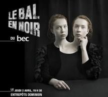 Le BEC annonce la troisième édition du Bal en noir