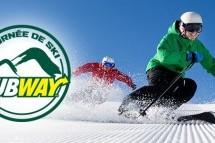 Lancement de la tournée de ski Subway en collaboration avec Carat