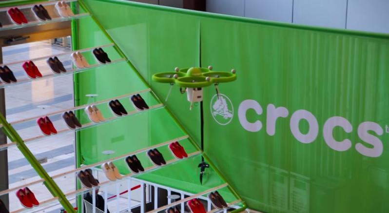 drones crocs