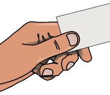 Soignez votre première alliée: votre carte d'affaires