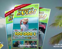 Sid Lee et Loto-Québec annoncent l'édition spéciale de la loterie Gagnant à vie!
