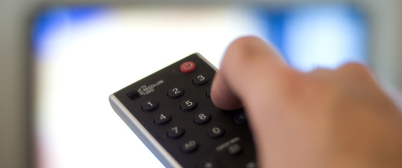 File photo dated 01/10/09 of a remote control for a television, as research suggested that each hour spent watching TV daily increases the chance of developing diabetes by 3.4% in high-risk individuals.