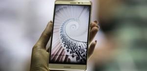 Le nouveau smartphone Mate S de Huawei