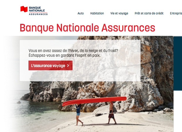 Banque nationale assurances lance un nouveau site web en for Assurance maison banque nationale