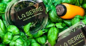 Brad Atelier conçoit l'identité de marque de La Serre, le nouveau comptoir santé de Laurie Raphaël