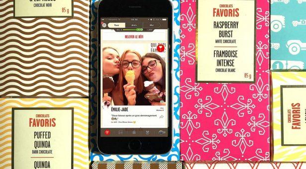 ChocoFan, l'appli inédite qui met les clients de Chocolats Favoris au défi