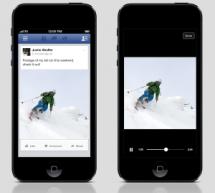 Facebook affiche officiellement les vidéos en format vertical