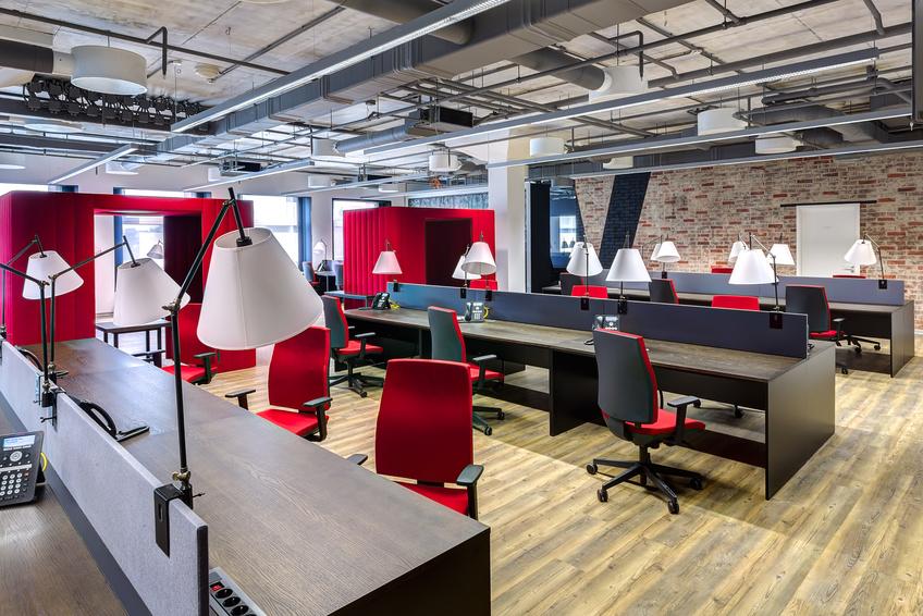 Les bureaux style meuble de métier industriel loft de vincent