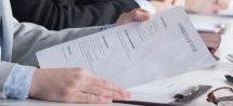 CV– les gestionnaires ont tranché: une page suffit