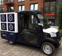 Une expérience de livraison par véhicule autonome à Londres