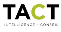 L'emploi du jour: Conseiller principal chez Tact Intelligence-conseil