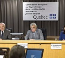 Chamberland: une loi pour protéger les journalistes et leurs sources suggérée | Fin de la «neutralité du Net» aux États-Unis