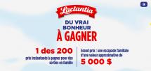 Pour son 70e anniversaire, Lactantia lance un concours pour les familles québécoises
