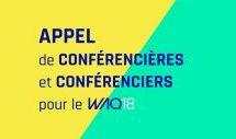 Fil de presse : Dernière semaine pour devenir conférencier au WAQ18, Telus lance une fondation dotée de 120 M$ et départ de Jade Raymond