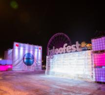 La Banque Nationale présente une buanderie géante pour réchauffer les festivaliers de Igloofest