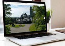 Chacha Communications signe le tout nouveau site web de l'abbaye de Saint-Benoît-du-Lac