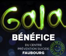 Le Gala bénéfice annuel du Centre prévention suicide Le Faubourg récolte un montant record