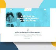 Tink signe le nouveau site Web de la Fondation Lucie et André Chagnon
