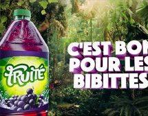 k72 signe la nouvelle campagne de Fruité