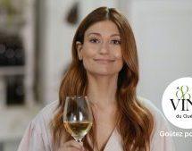 Première campagne publicitaire pour le Conseil des vins du Québec, qui s'est allié à Katherine Levac et L'agence KOZE