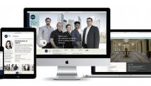 Cyclone Design Communications réalise le nouveau site  du Groupe QMD