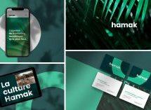 L'agence numérique Hamak dévoile sa nouvelle identité visuelle