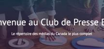 Marketing d'influence: le Club de Presse Blitz s'associe au répertoire d'influenceurs Plik