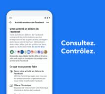 Fil de presse : Une nouvelle fonctionnalité de Facebook pour mieux contrôler vos données personnelles… en dehors de Facebook