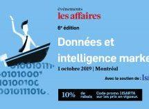 À ne pas manquer la semaine prochaine : Conférence Les Affaires – Données et intelligence marketing