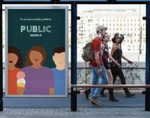 Public Mobile lance sa nouvelle identité visuelle, signée Cossette