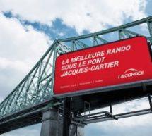 Le meilleur de la Cordée s'affiche dans Montréal, dans une campagne signée Réservoir