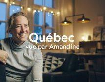 L'Office du tourisme de Québec dévoile sa nouvelle campagne publicitaire numérique, avec la chef française Amandine Chaignot