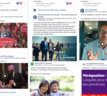 Élections fédérales : Ce que l'on apprend grâce à la nouvelle transparence des publicités sur Facebook