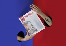 Erod agence créative signe le nouveau magazine de RE/MAX bonjour