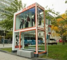 Joe Fresh dévoile sa collection d'automne avec Maripier Morin et un abribus à deux étages signé Québecor
