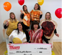 Pour l'Halloween, Thara Communications se déguise et donne au Club des petits déjeuners