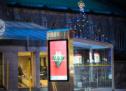 Québecor transforme 12 abribus de la grande région de Montréal pour les Fêtes
