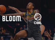 La Canadian Elite Basketball League choisit l'agence Bloom pour ses campagnes Web nationales