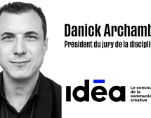 Danick Archambault (Jungle Média) président du jury Média du concours Idéa
