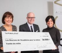 Un don de 36 000$ de Turbulent aux bourses de l'Académie canadienne du cinéma et de la télévision