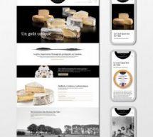 Larouche Marketing Communication réalise le nouveau site Internet de la Fromagerie de l'Île-aux-Grues